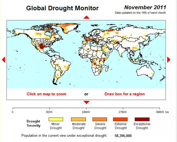 How the Texas Drought Compares to the Rest of the World ...