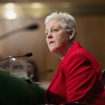 Gina McCarthy testifies before a Senate Environment and Public Works Committee hearing on her nomination to be administrator of the Environmental Protection Agency on Capitol Hill in Washington April 11, 2013.