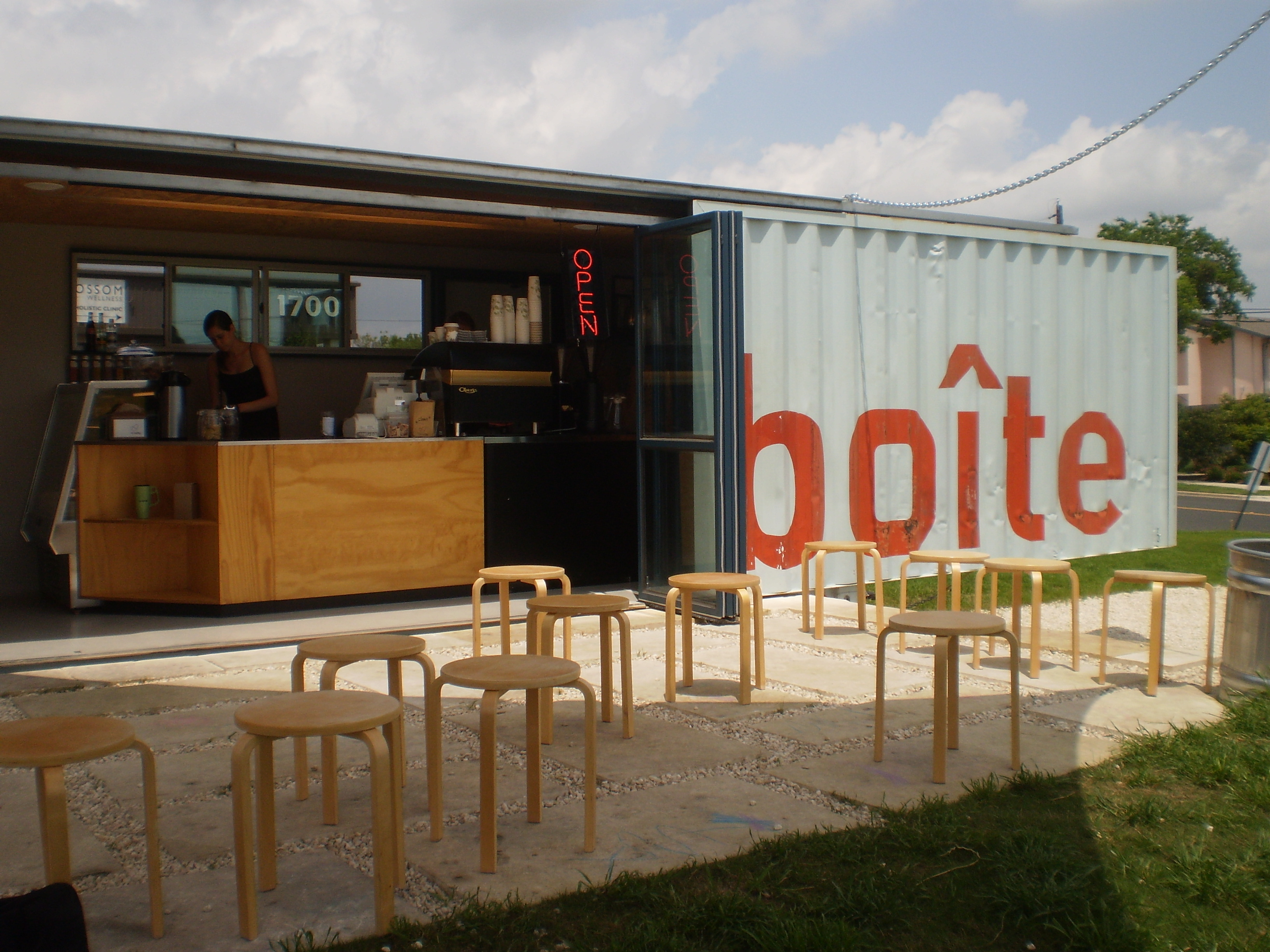 Shipping Container Homes In Texas now shipping: container coffeehouses | stateimpact texas