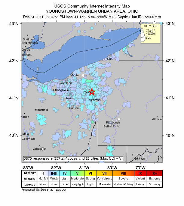 What We Know About Fracking Activity And The Ohio Earthquake - Map of fracking in us