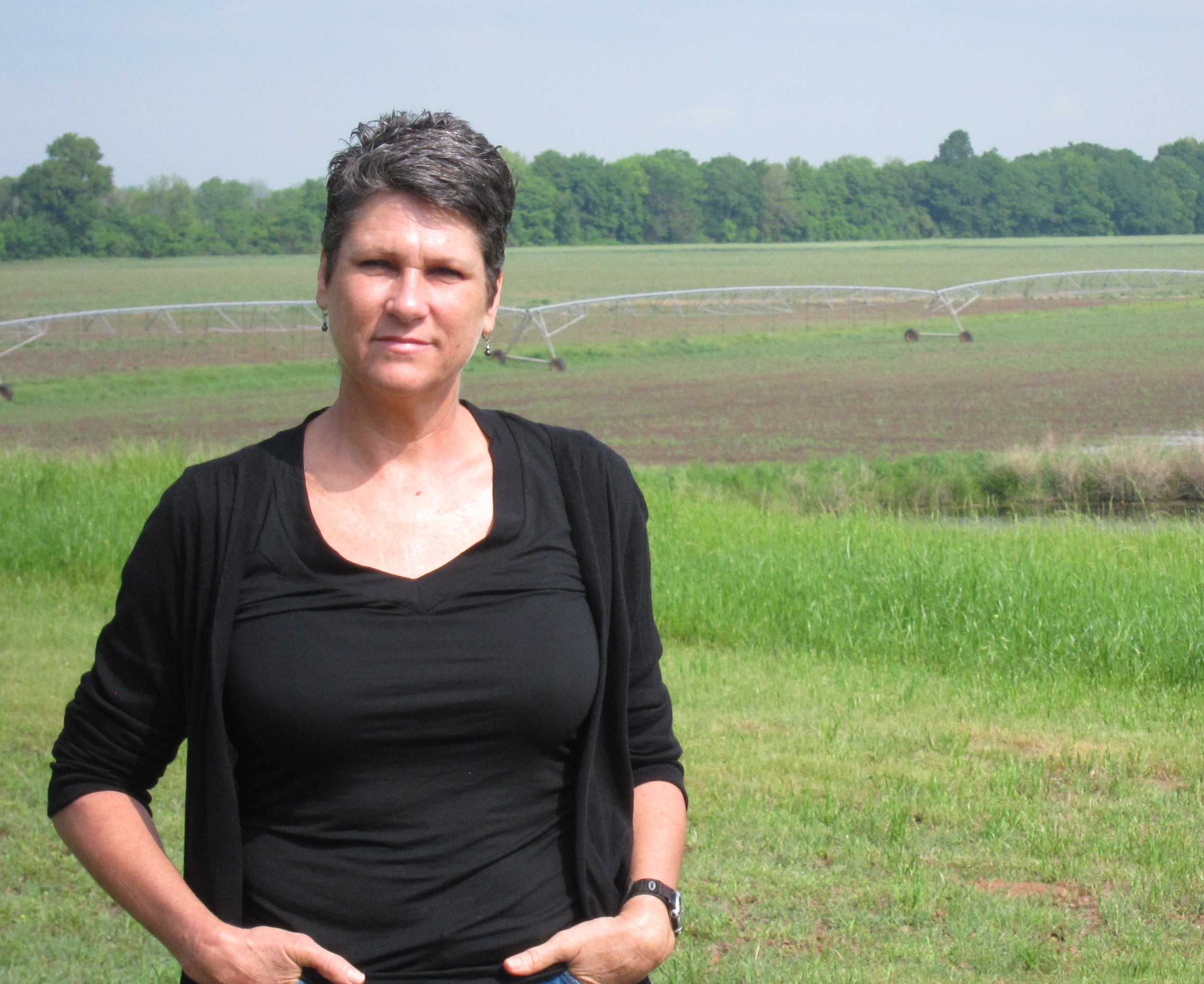 Julia Trigg Crawford has several hundred acres of land in northeast Texas. She lost her recent challenge to the Keystone XL pipeline.