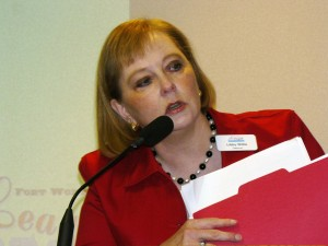 Libby Willis, former president of the  Forth Worth League of Neighborhood Associations.