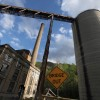 Abandoned coal company structures are seen on April 16, 2012 in Lynch, Kentucky. The historic coal mining town of Lynch once boasted a population of more than 10,000 and was once the largest coal camp in the world.