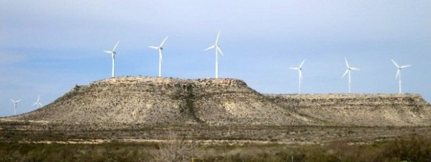 Wind turbines in West Texas help produce record amounts of electricity for the state.