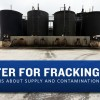 Each day, dozens of trucks hook up to the Gulf Coast-run fracking fluid disposal well site near Gonzales, TX.