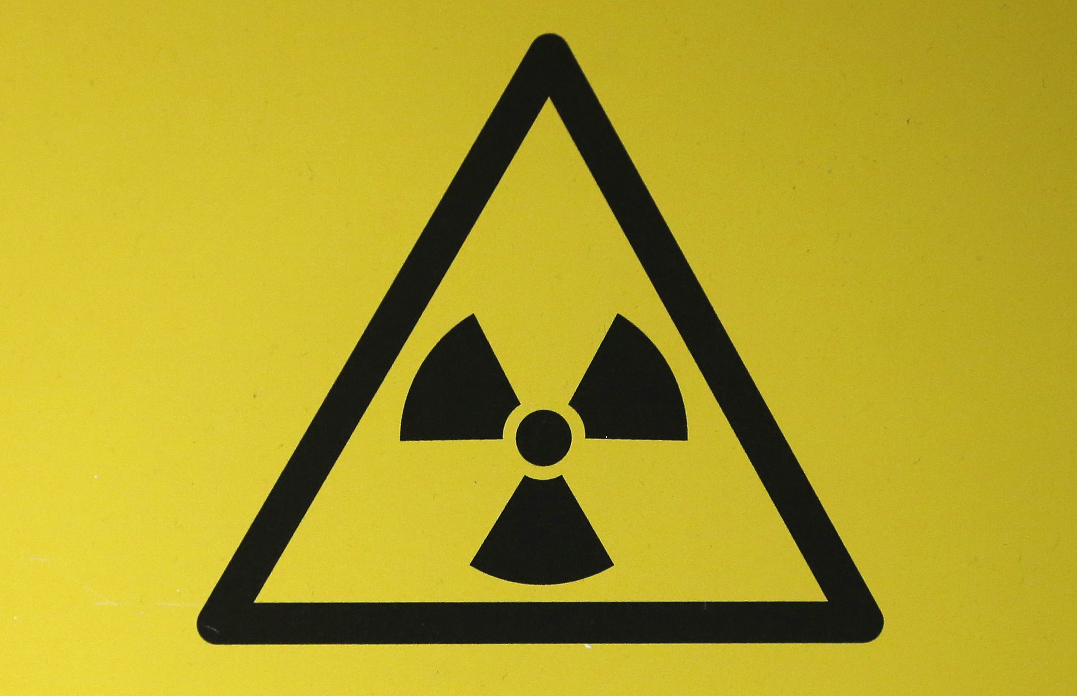 A radioactive material hazard symbol called a trefoil is seen the new ruing could make it more difficult to contest similar projects in the future biocorpaavc Gallery