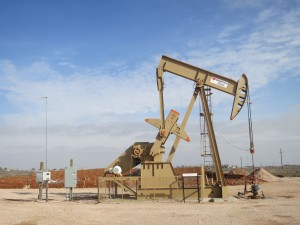 A pumpjack in Midland, home to yet another oil boom recently.