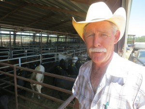 Larry Schatte manages an auction house in Giddings.