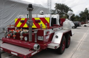 Foam trailer purchased with federal grant by Fort Bend County Emergency Management