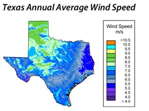 West Texas and the Panhandle are Texas' most prolific wind producers