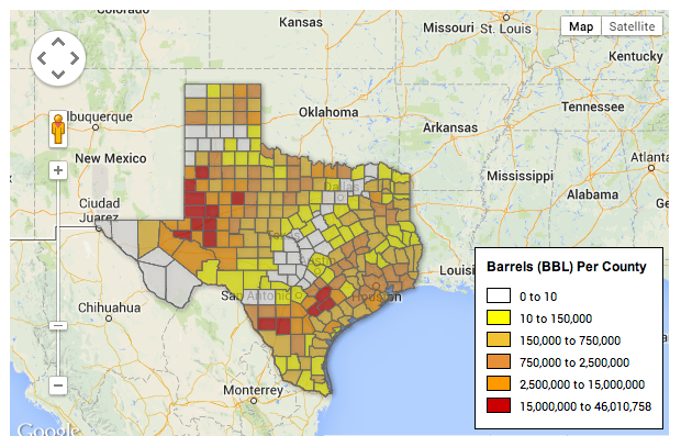 Five Things You Should Know About Energy In Texas StateImpact Texas - Map of texas counties