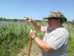 Bruce Bar is a certified floodplain manger and caretaker of his neighborhood dam.