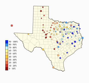 Reservoir levels across the Western half of Texas remain dangerously low.