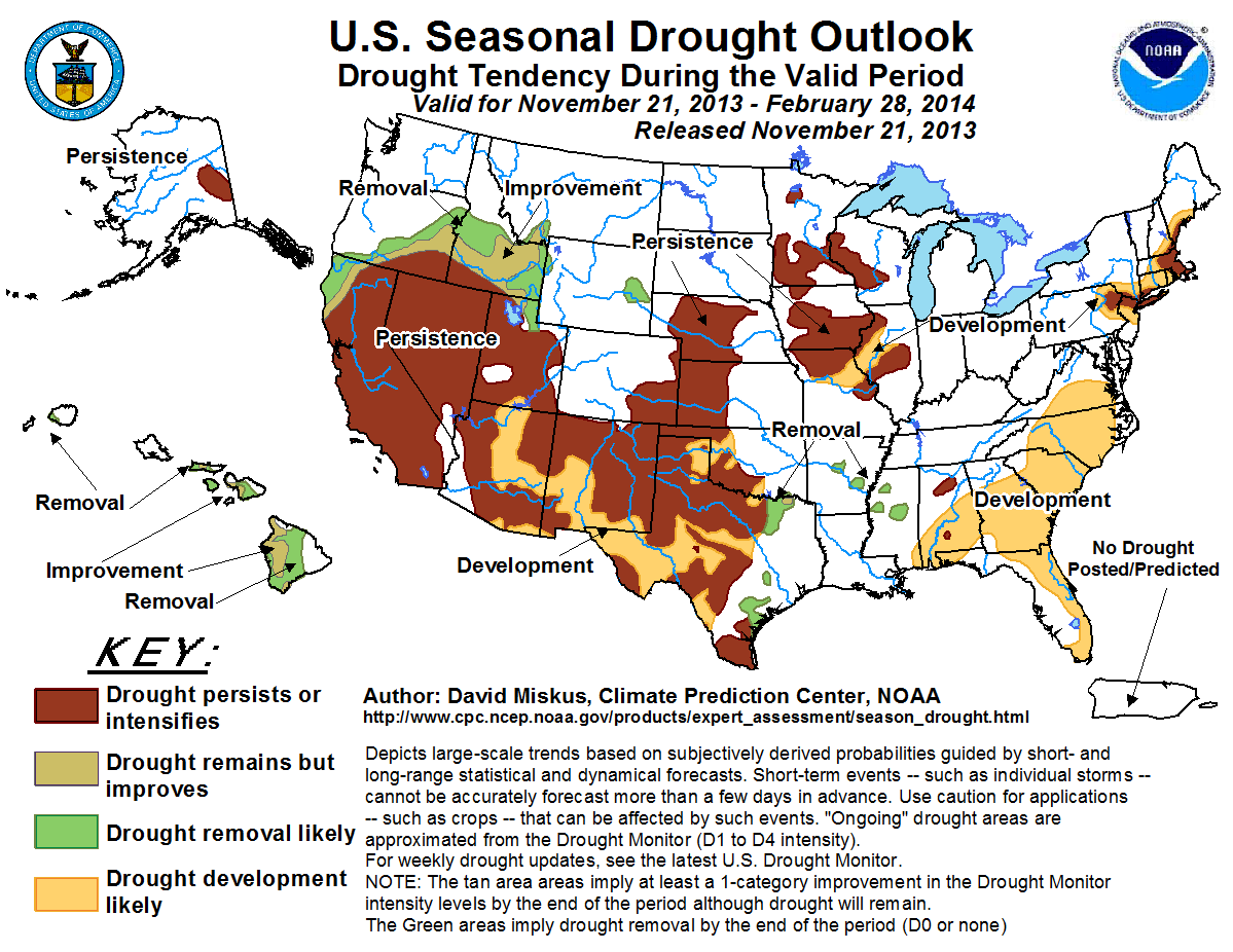 A Very Mixed Outlook for the Texas Drought StateImpact Texas