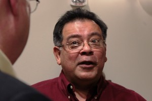 Cruz Hinojosa is a community activist in Galena Park, east of Houston