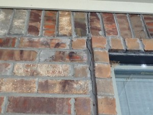 Rebecca Williams of Azle says these cracks appeared in her home after the quakes started last month.