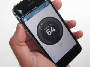 New thermostats like the Nest allow you to manage your home's energy use from your smartphone.