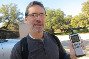 Dr. Jay Banner studies ancient climate trends in caves around Texas.