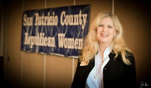 Becky Berger is running to be the Republican nominees for Railroad Commission.