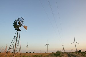 Texas leads the nation in wind energy production.