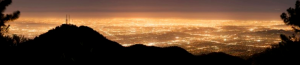 The same view over Los Angeles in 2008.