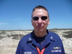 Randal Ogrydziak, the US Coast Guard Captain who is one of the coordinators of the spill