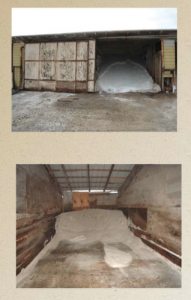 The State Fire Marshal's Office took these photos of fertilizer facilities where ammonium nitrate is stored in wooden buildings with no sprinklers.