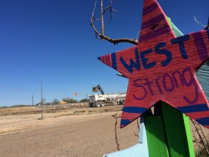 Crews are still working to clear the site of the explosion in West, Texas.