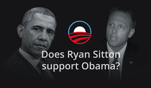 The candidates are trying to link their opponents to President Obama.