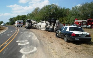 Traffic accidents have surged along with drilling in Texas counties.