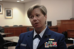 Lt. Com. Teresa Hatfield is chief of investigations division of USCG