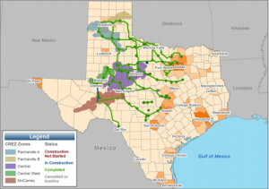 New transmission line projects are already resulting in more wind power making its way to cities in Central and North Texas.