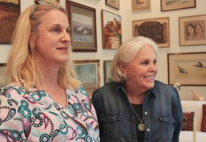 Melanie Oldham and Sharron Stewart in Lake Jackson are featured in the AUDIO story