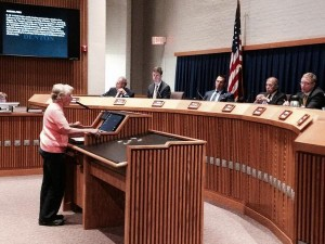 The Denton City Council listened to seven hours of public testimonies from more than 100 people.