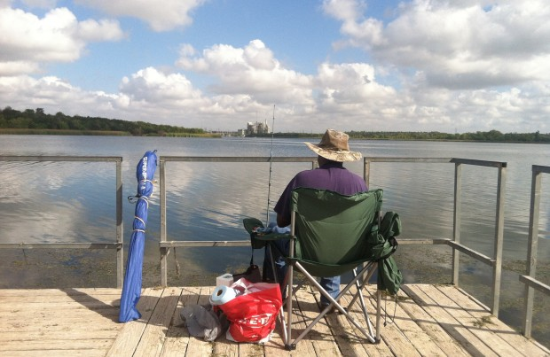 Austin's Decker Lake is used for electricity production and recreations. But it could be re-purposed for municipal water use.