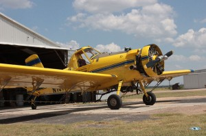 A crop duster plane. Photo by Dave Fehling