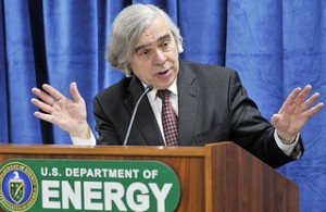 Ernest Moniz was the keynote speaker of this year's SXSW Eco conference in Austin.