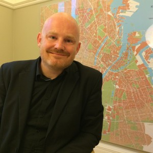 """You can sit in your metal box and be cut off from the rest of the world, or you can get out there on your feet or on your bicycle and actually interact with the other people in the city,"" Copenhagen Environmental and Technical Affairs Mayor Morten Kabell says."