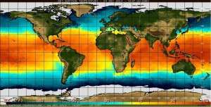 El Nino heats up parts of the ocean, and begins a pattern that can bring rain to North America.