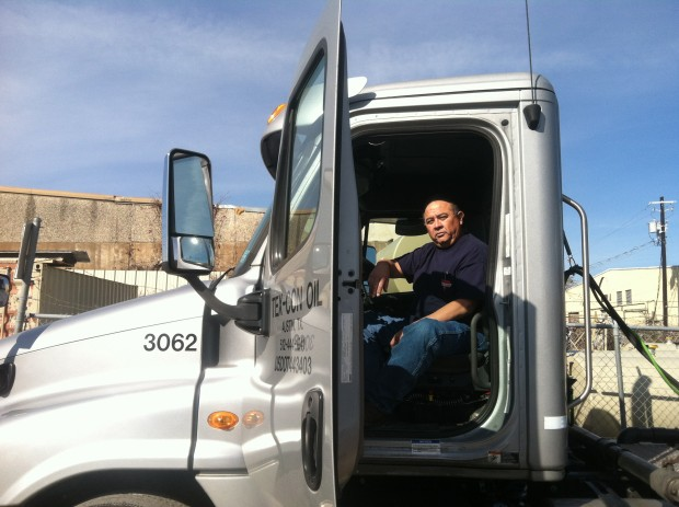 Johnny Herrera is a dispatcher for Tex Con Oil. A company that distributes fuel around the Austin area.