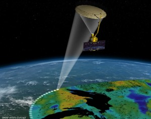 The SMAP satellite will monitor drought levels around the globe.