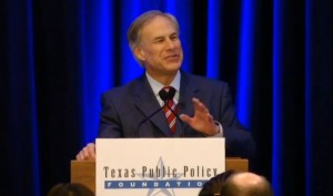 """Texas is being California-ized,"" Abbott said at a keynote speech he delivered January 8th to the Texas Public Policy Foundation."