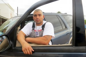 Cotulla native Jose Rodriguez had lost his oilfield job earlier this year. He was thinking about leaving town.