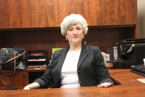 Brenda Talbert is in charge of the county chamber of commerce. She thinks oil prices are will rebound soon.
