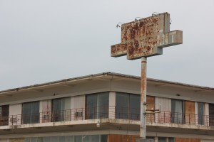 In downtown Cotulla, an empty hotel from a bygone era serves as a warning to some.