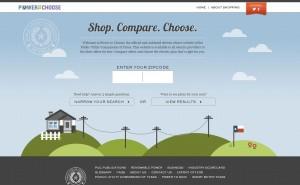 Power to Choose Homepage